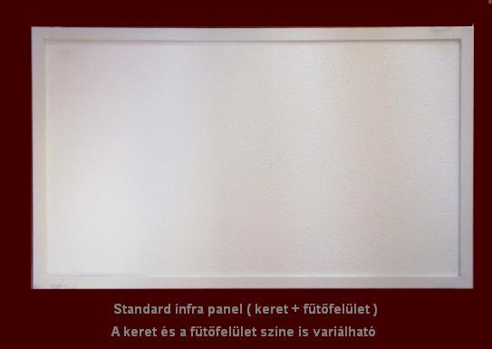 infra panel fehér
