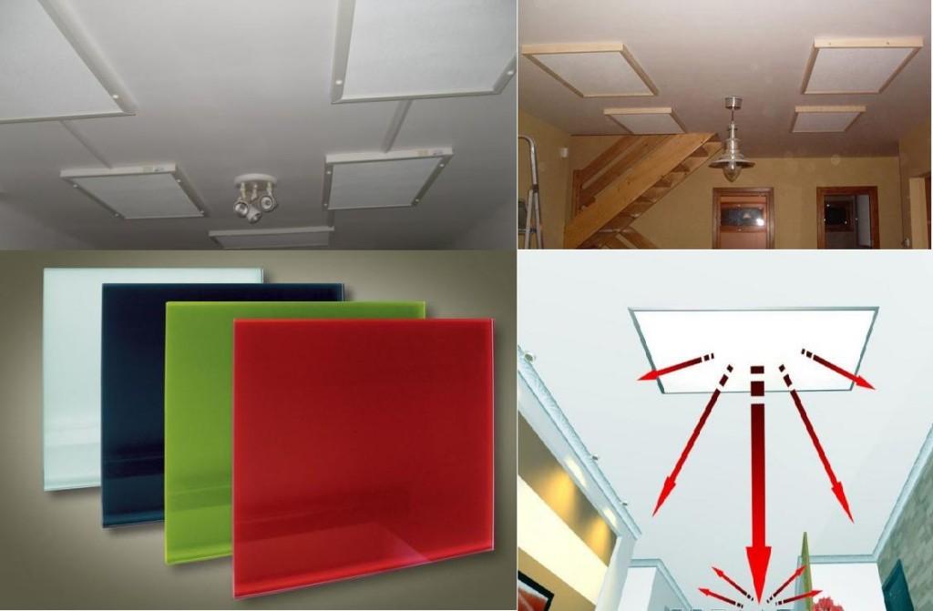 infra panel felszerelve